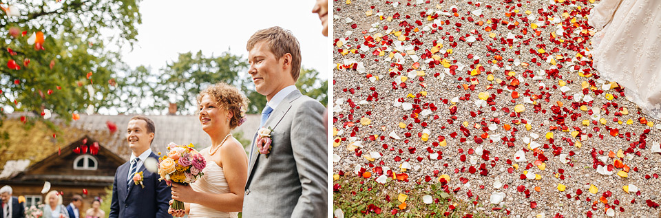 Laulību ceremonija brīvā dabā