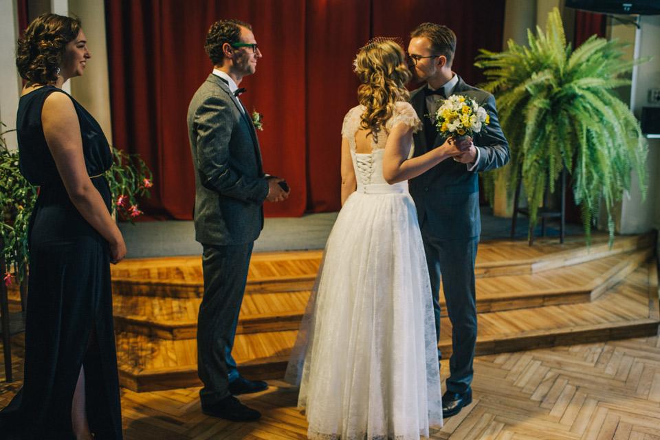 Laulību ceremonija Smiļģa muzejā