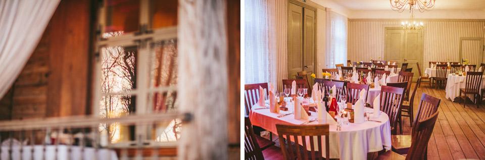 Rāmavas - Depkina Muiža kāzu galdi