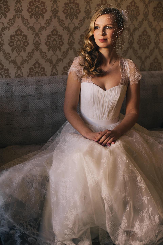 Līgavas Portrets kāzās