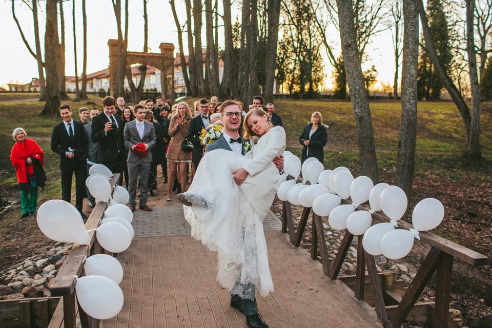 Pavasara kāzas Rāmavas Muižā