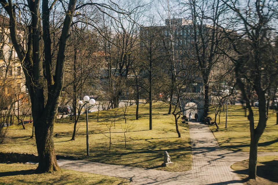 Smilkga Muzeja Parks Kazu ceremonija
