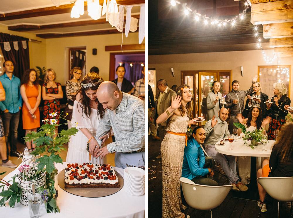 Kūkotavas kāzu torte