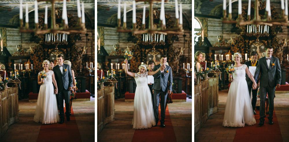 kāzas Usmas baznīcā Brīvdabas muzejā