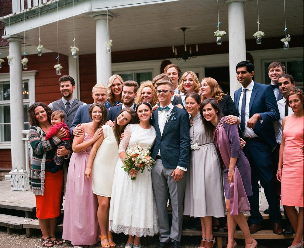 Kāzu foto ar filmiņu - Kopbilde kāzās