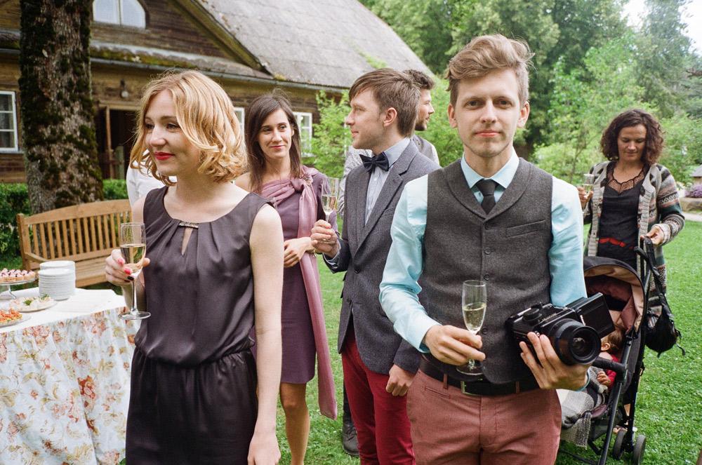 Fotogrāfs kāzās