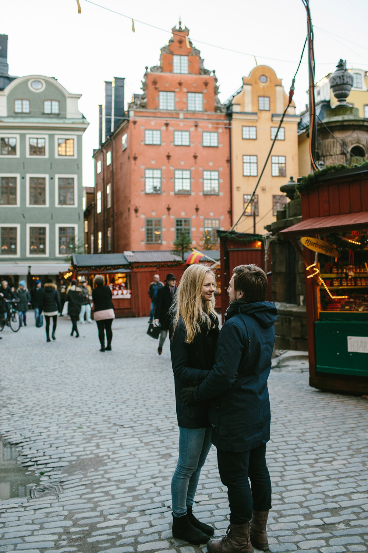stockholm engagement photos