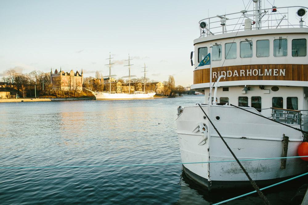 stockholm boat wedding