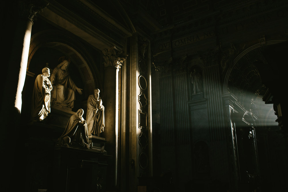 st.peter s basilica wedding photographer