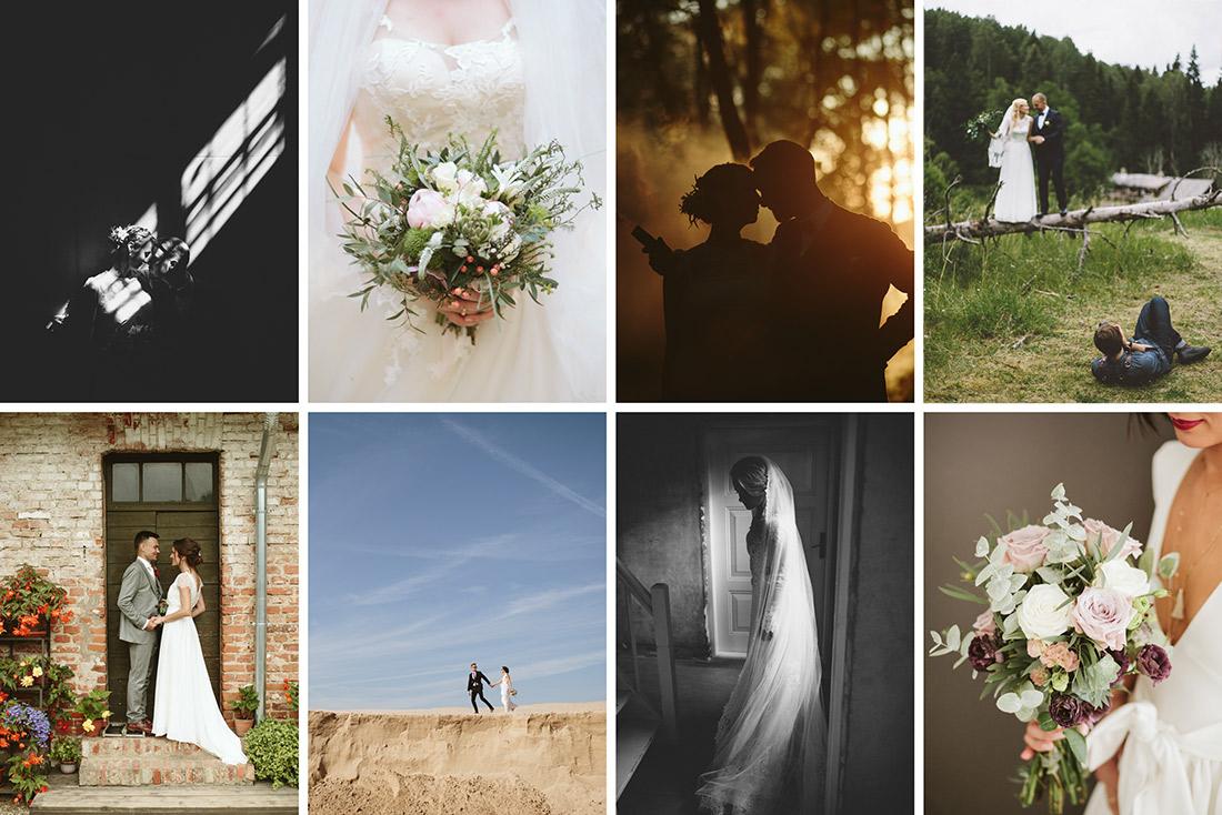 Septembra kāzu foto izlase
