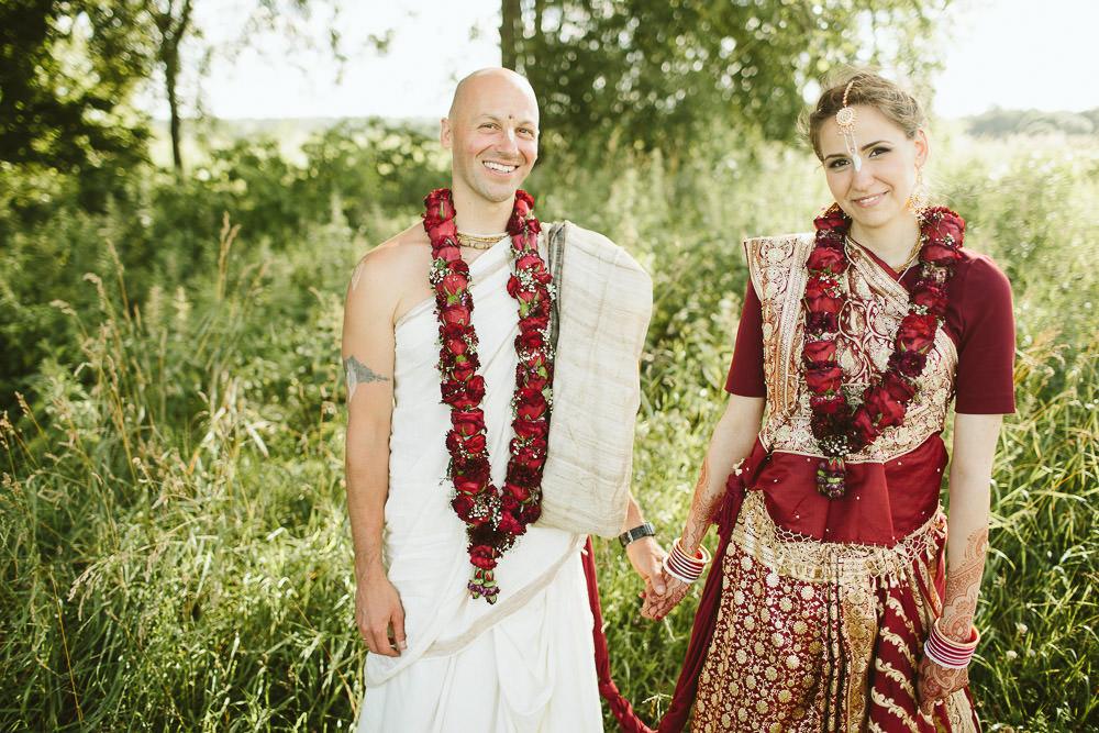 Vēdiskas kāzas pļavā