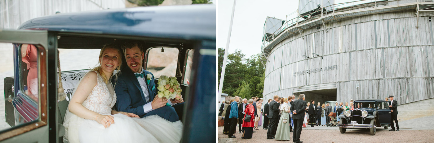 Fjæreheia wedding ceremoni