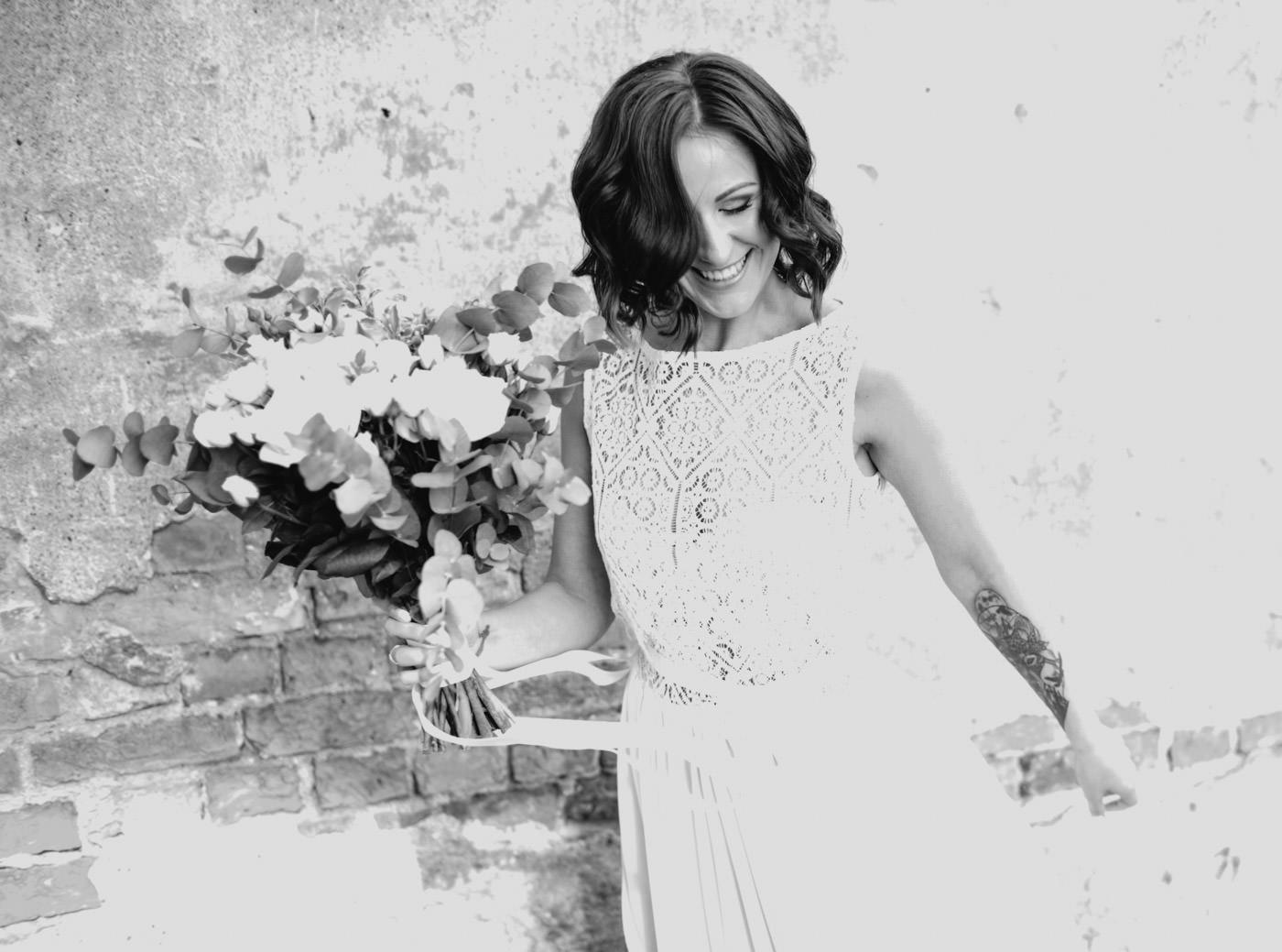 Līgavas kāzu foto