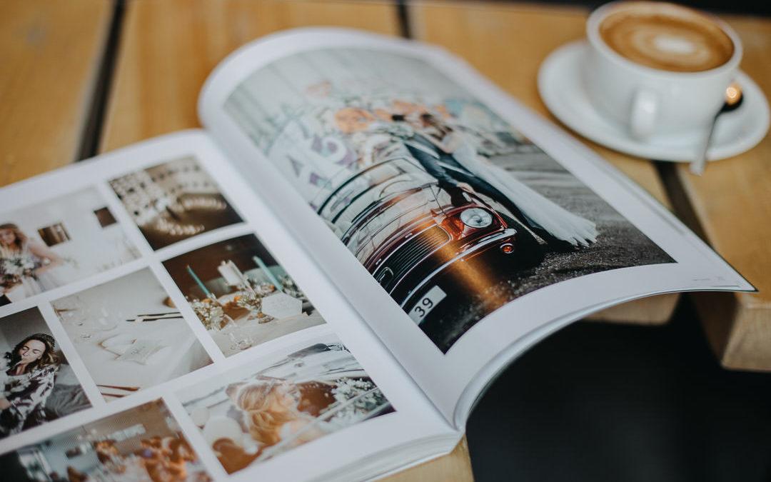"""Viens no fotogrāfa lielākiem priekiem ir drukātas fotogrāfijas // 3. kāzu grāmatžurnāls """"Līgavām"""""""