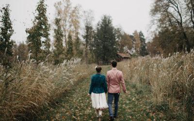 Pirmais sniegs kāzās // Vienas bildes stāsts
