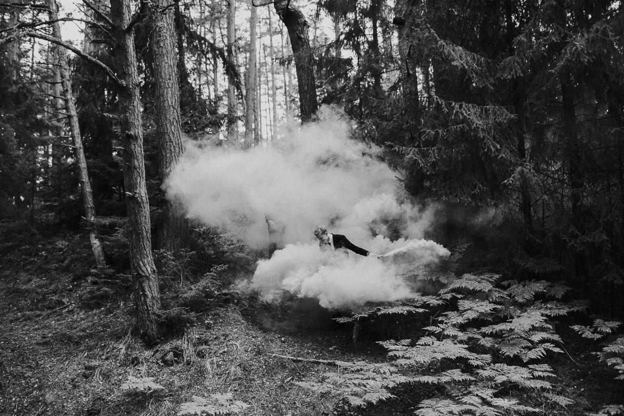 Dūmu fotosesija