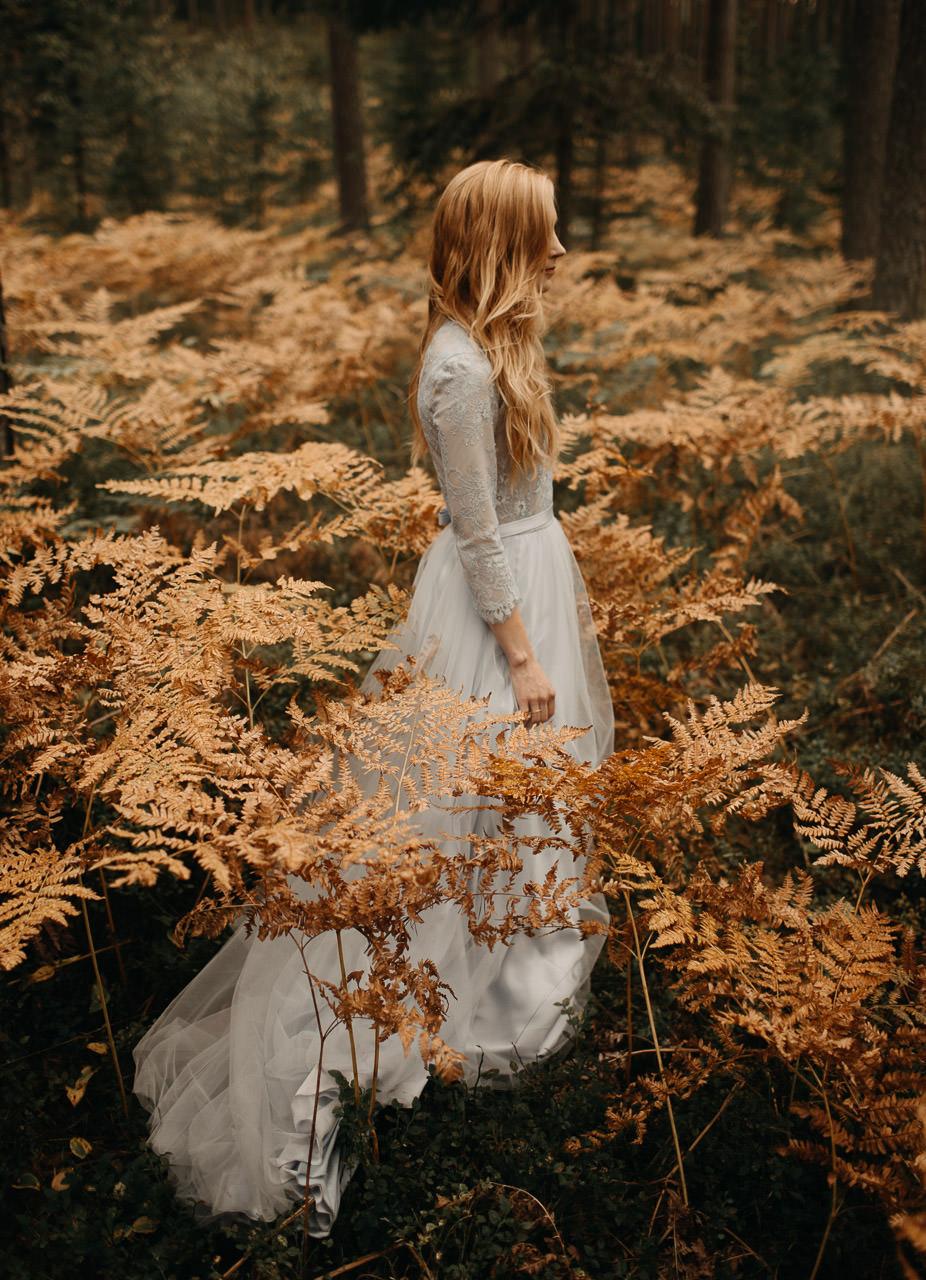 Rudens kāzas papardēs