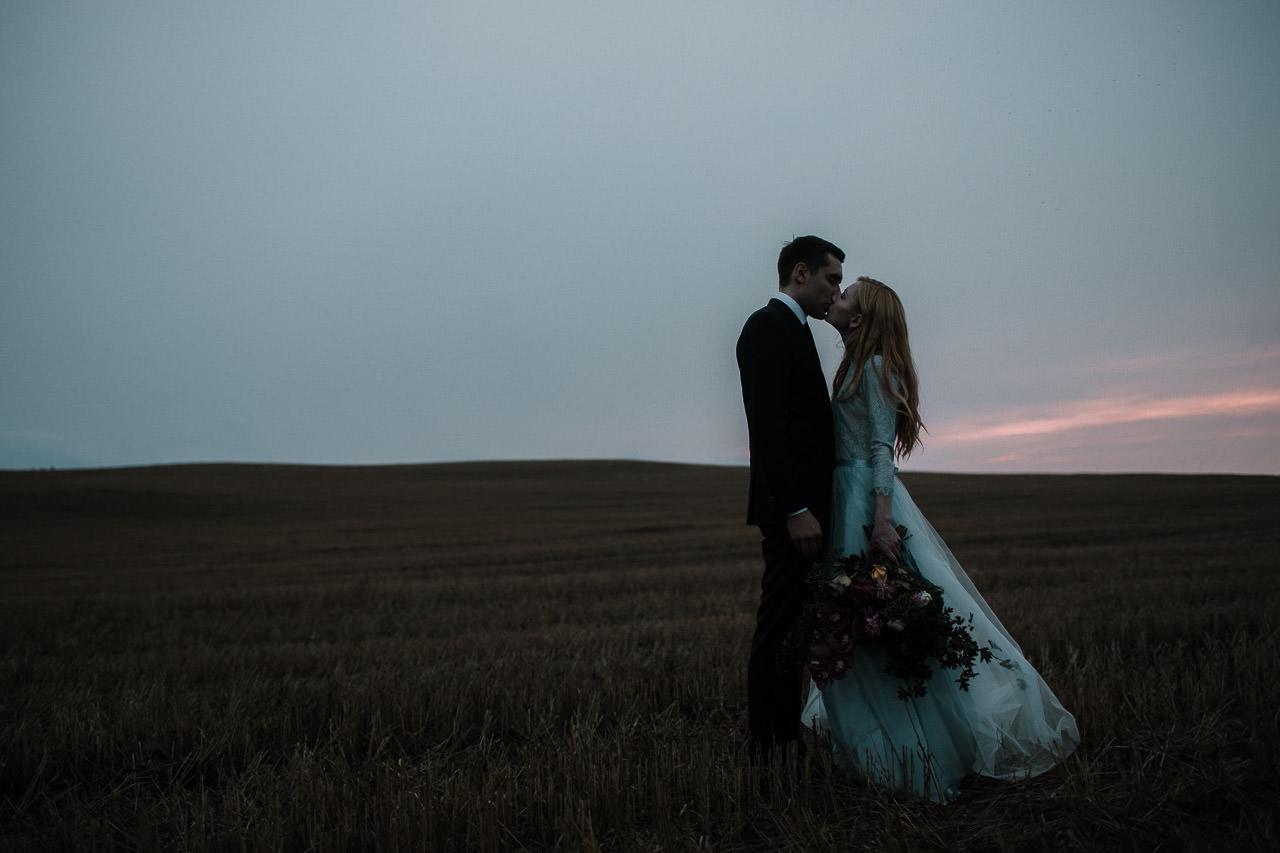 Vakara fotosesija kāzās