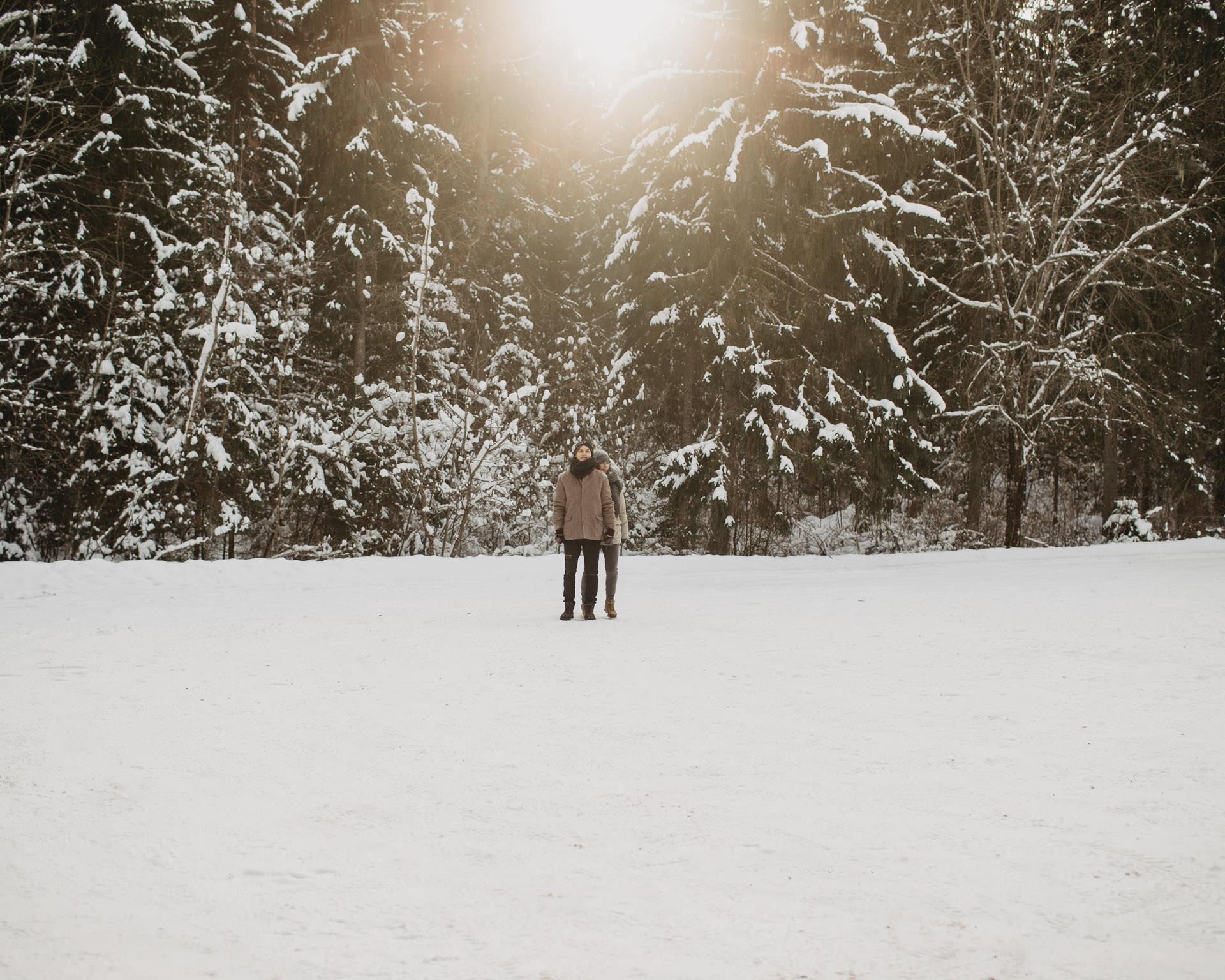Fotografēties ziemā