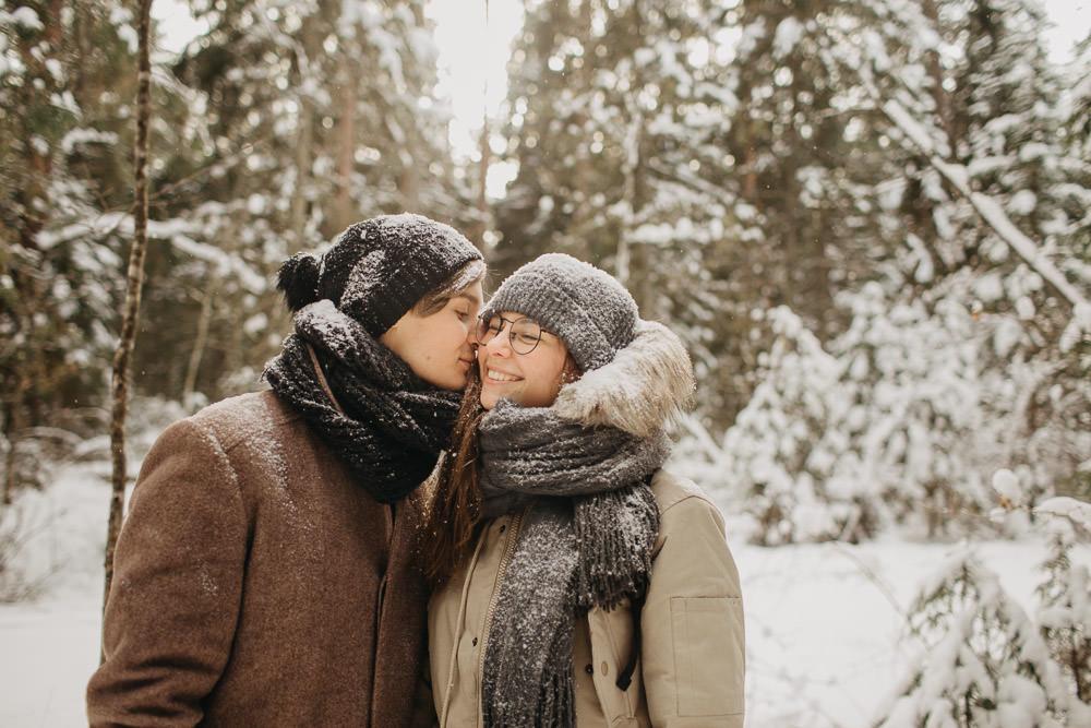 Ko darīt pēc branča? Iet pastaigā un fotografēties ziemā!