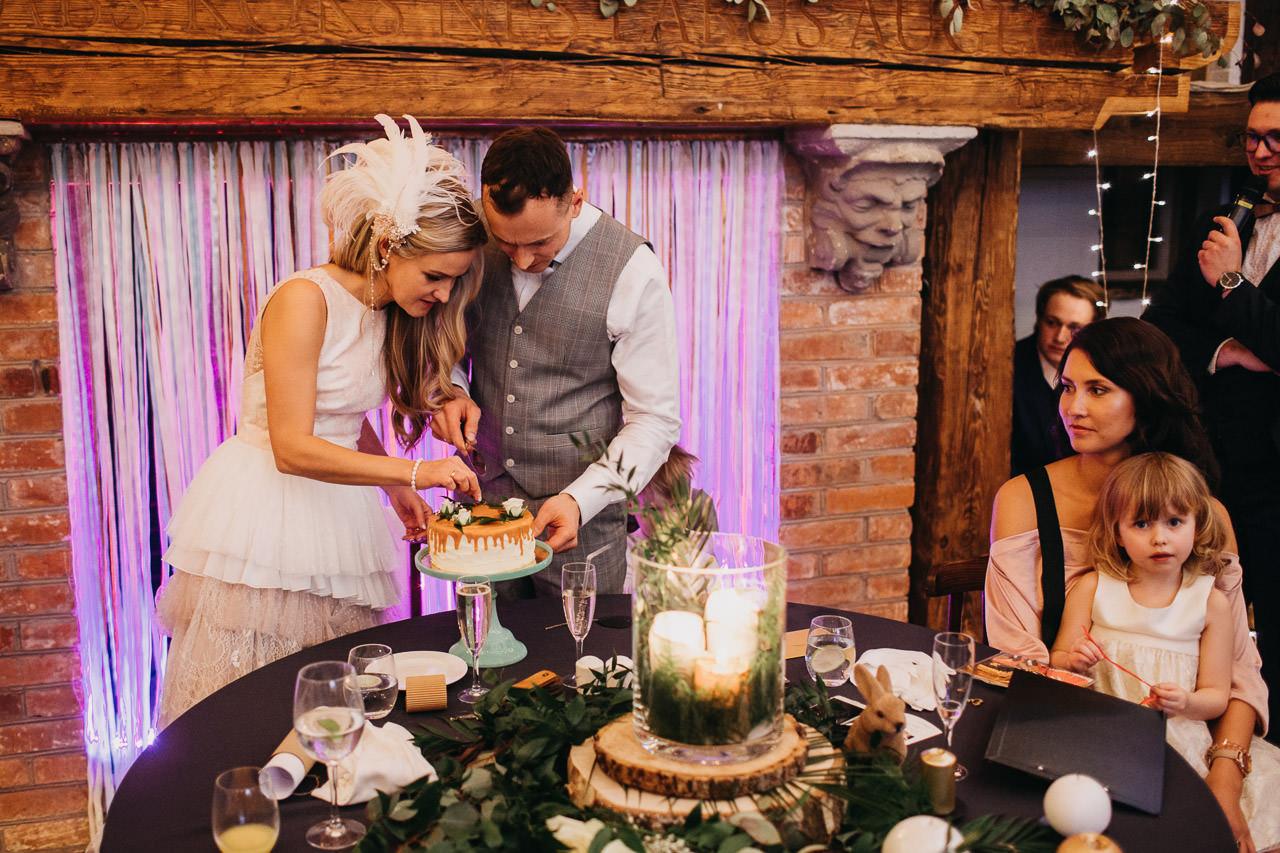 Garda kāzu kūka
