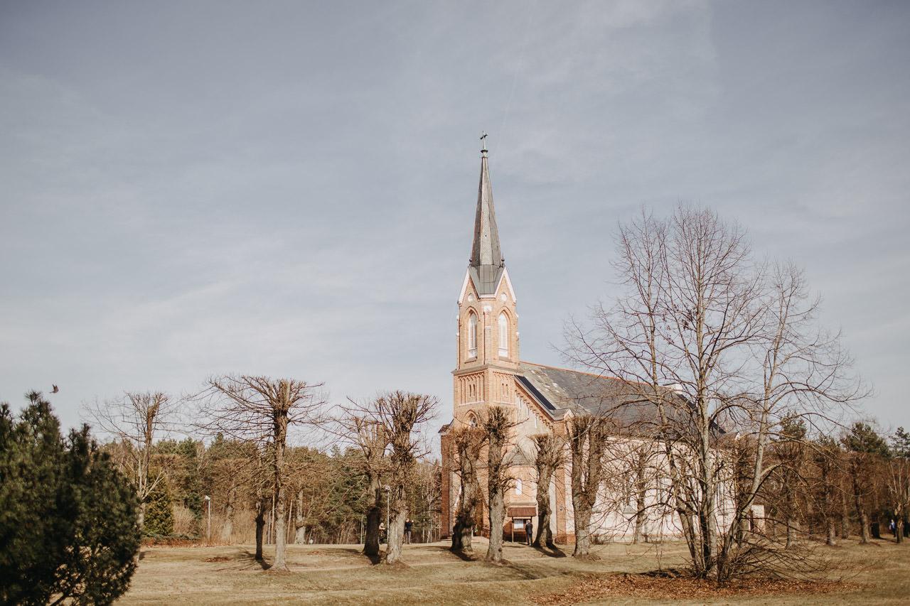 Kāzas Piņķu baznīcā