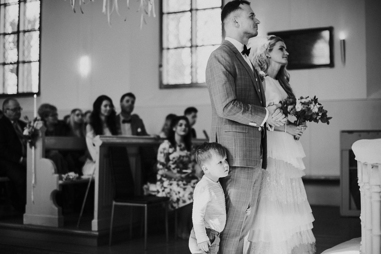 Melnbaltas kāzu bildes