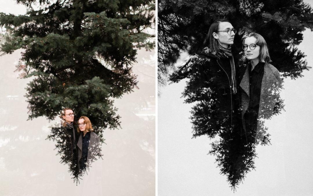 Pāra fotosesija parkā | Vienas bildes stāsts