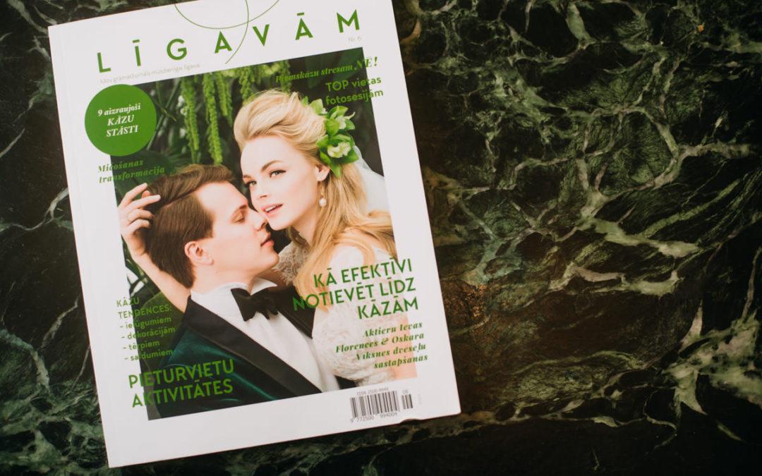 """Gatavojies kāzām? Lasi jauno """"Līgavām"""" kāzu grāmatžurnālu!"""